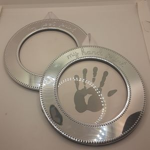 Baby Hand and Foot Memory Frames Set of 2